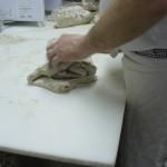 Beim Brot-Wirken