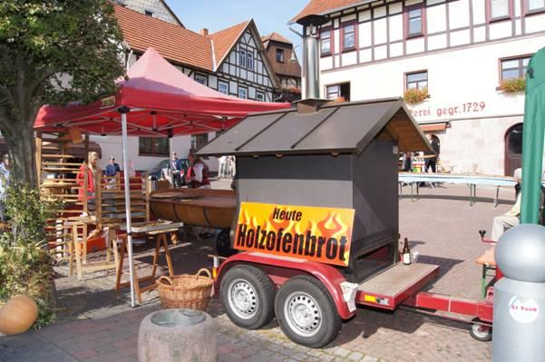 Holzofen Zobel's Bäckerei Dermbach/Rhön