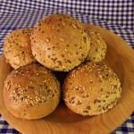 Körnerbrötchen von Zobel's Bäckerei in Dermbach / Rhön