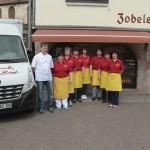 Belegschaft Mitarbeiter Zobel's Bäckerei