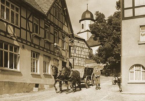 Zobel's Bäckerei in Dermbach / Rhön im 20. Jahrhundert